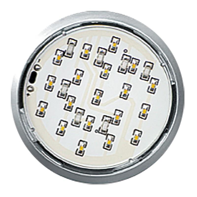 LED oczko LUGO satyna b/ciepły