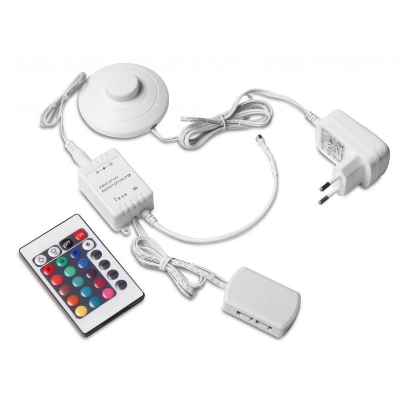 Zestaw RGB zasilacz 6w + kontroler