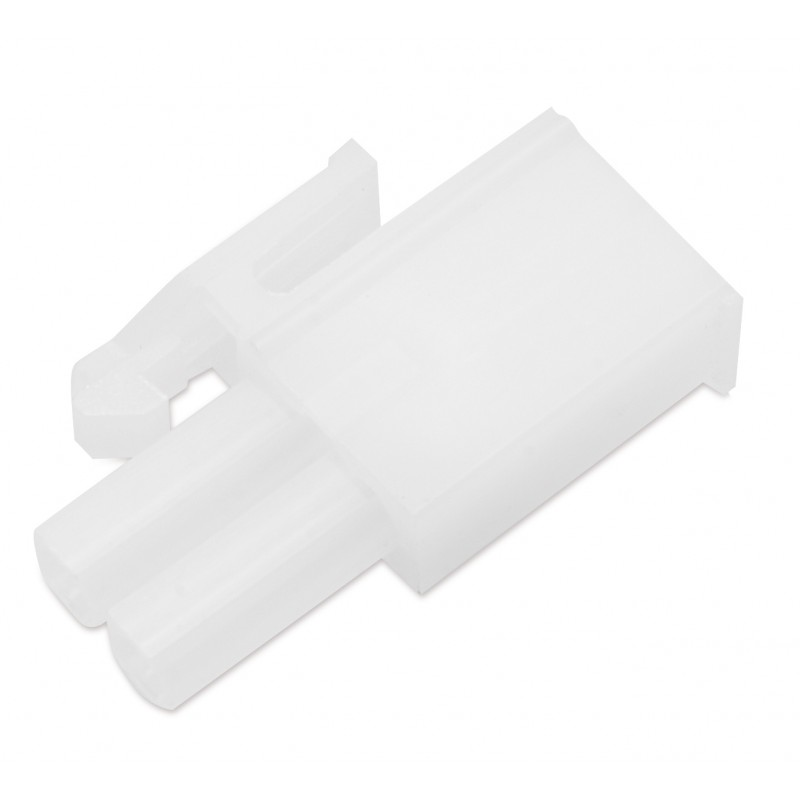 Złączka do oświetlenia pin męska plastik
