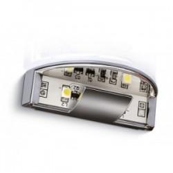 LED klip do półki szklanej