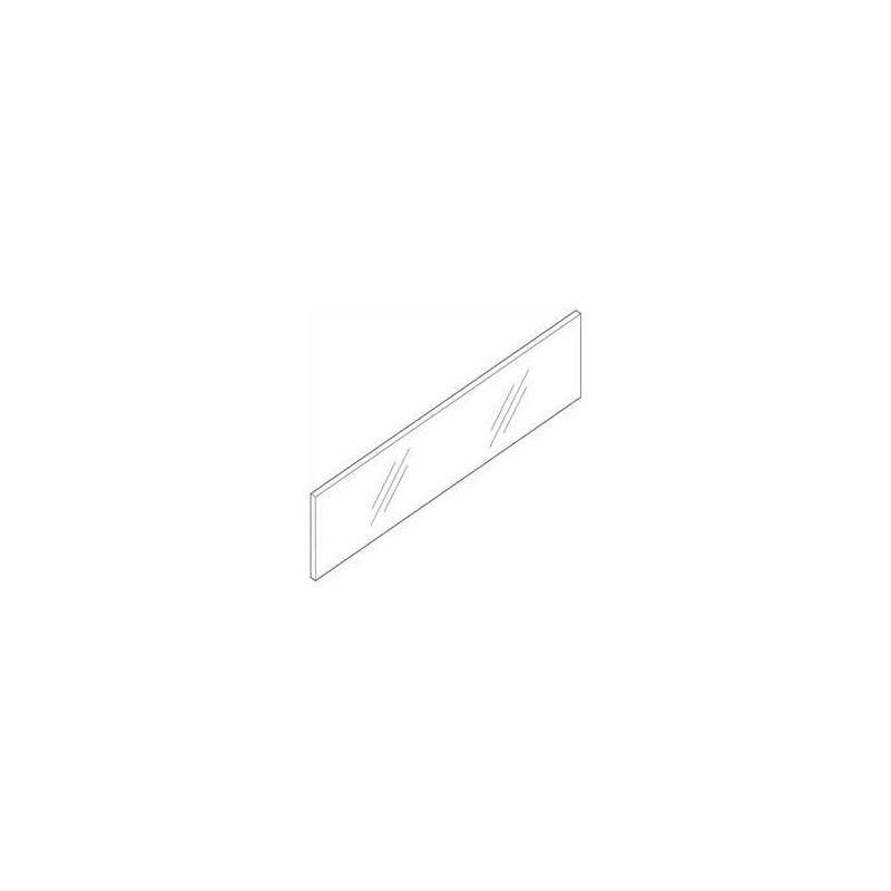 Przezroczysty szklany element dekoracyjny 500log