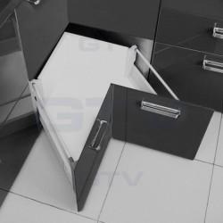 Modern box do szafki narożnej