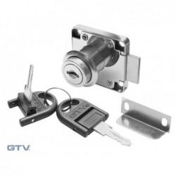 Zamek kwadrat GTV 138 łamany klucz