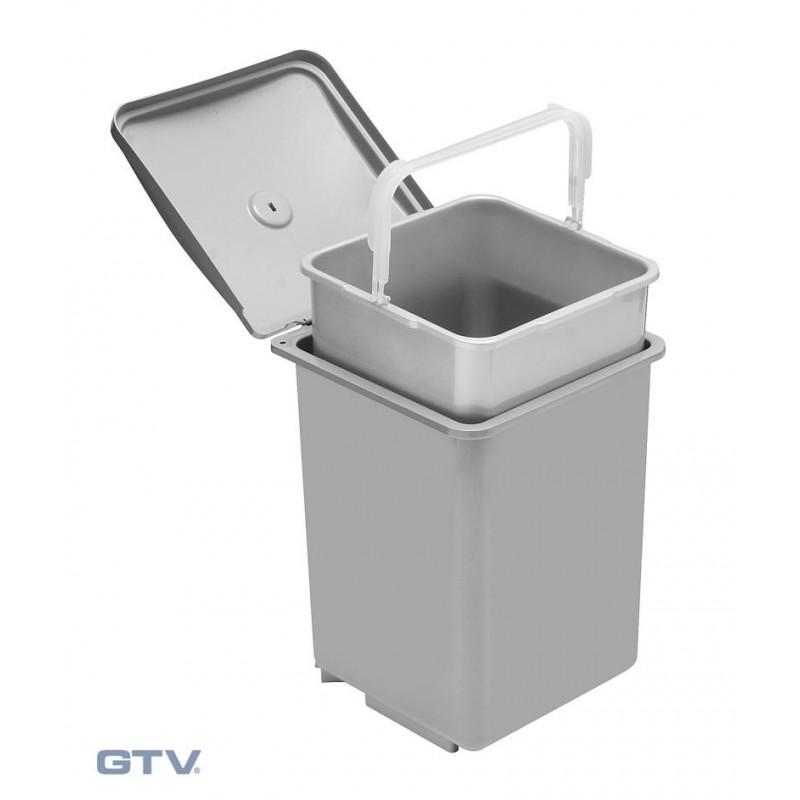 Kosz na śmieci/segregator QUADRA 13L